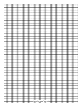 Delica Bead Graph Paper (Enlarged 200% of Actual Size)