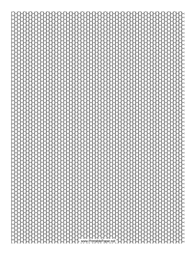 Bead Peyote Seed on Lined Paper Layout