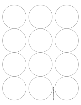 Printable round label 2 5 inches diameter for 2 inch circle label template