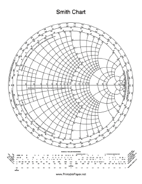Smith Chart Paper