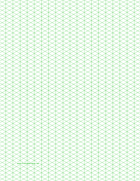 Isometric Grid Paper Picture