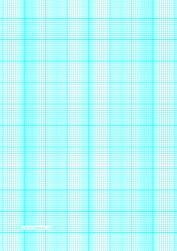 printable graph paper with ten lines per inch and heavy