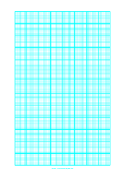 printable graph paper with one line every 2 mm and heavy