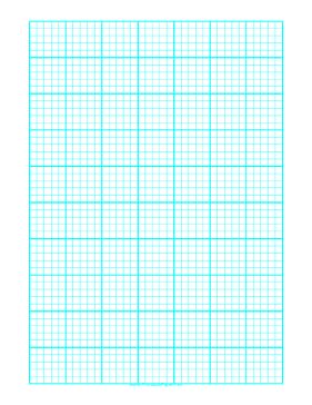 ... every 2 mm and heavy index lines every fifth line on A4 paper Paper