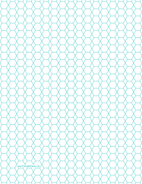 Obsessed image for printable hexagon graph paper