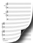 Duet-Piano and Organ Music Paper paper