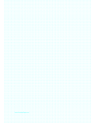 Dot Paper with 3.33mm spacing on A4-sized paper paper